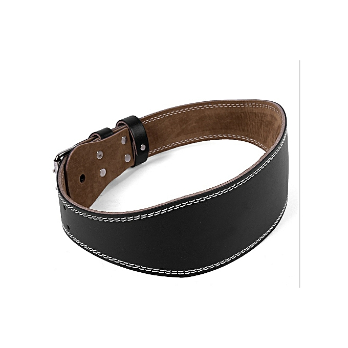Weightlifting Belt – Adjustable – Leather Weight Lifting Belt