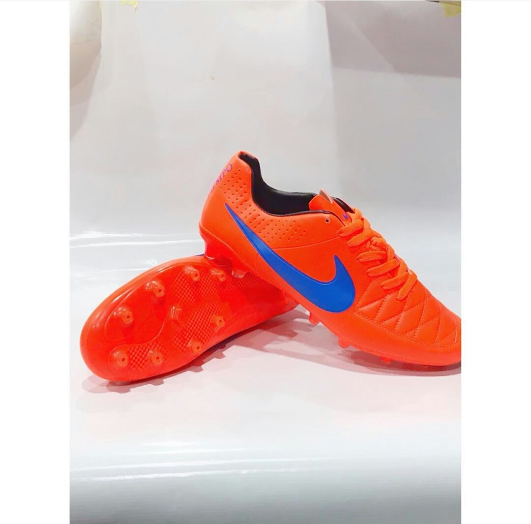 New nike tempo orange(football boot)
